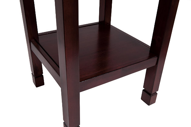 Marnville Accent Table, Reddish Brown, large