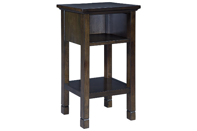 Marnville Accent Table, Dark Brown, large