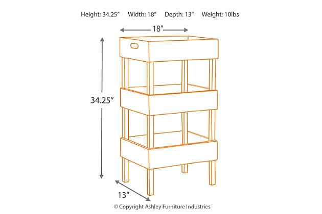 Yulton Storage Shelf, , large