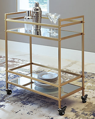 Kailman Bar Cart, , rollover