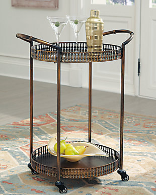 Clarkburn Bar Cart, , rollover