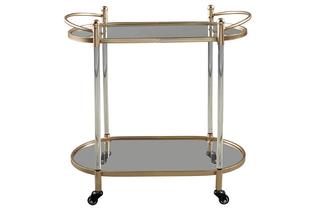 Cordland Bar Cart, , large