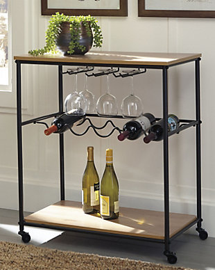 Jadonport Bar Cart, , rollover