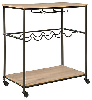 Jadonport Bar Cart, , large