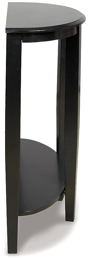 Altonwood Sofa/Console Table, Black, large