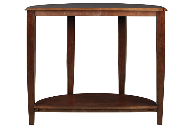 Altonwood Sofa/Console Table, Brown, large