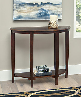 Altonwood Sofa/Console Table, Brown, rollover