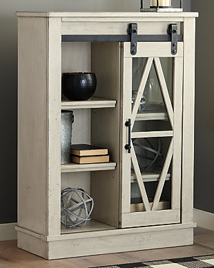 Bronfield Accent Cabinet, White, rollover