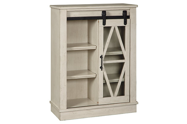 Bronfield Accent Cabinet, White, large