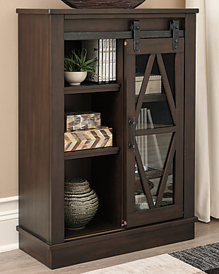 Bronfield Accent Cabinet, Brown, rollover