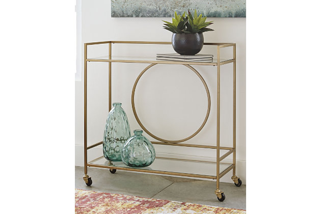 Jackford Bar Cart, , large