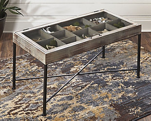 Shellmond Coffee Table with Display Case, , rollover