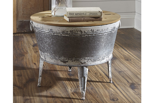 Shellmond Coffee Table With Storage, , large