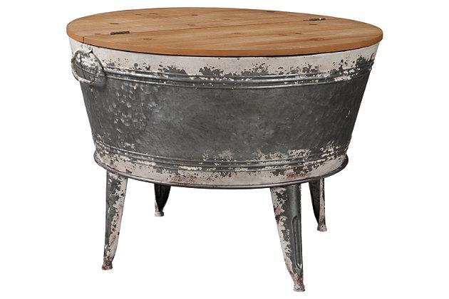 Shellmond Coffee Table With Storage Ashley Furniture Homestore