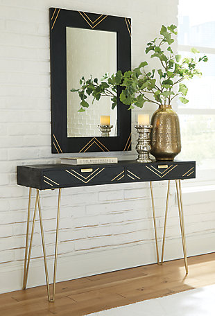 Coramont Console Table with Mirror, , rollover