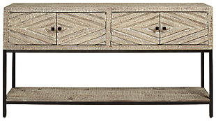 Roanley Sofa/Console Table, , large