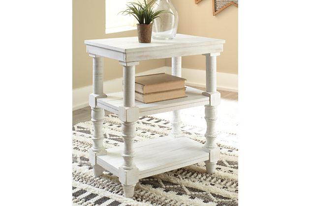 Dannerville Accent Table, Antique White, large