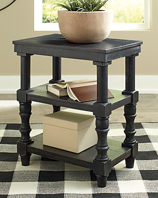 Dannerville Accent Table, Antique Black, rollover
