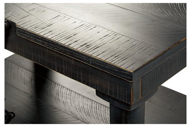 Dannerville Accent Table, Antique Black, large