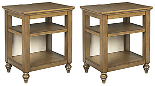 Brickwell 2 End Tables, , large