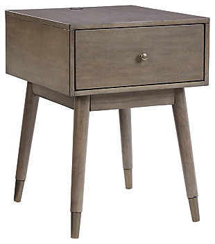 Paulrich Accent Table, Antique Gray, large