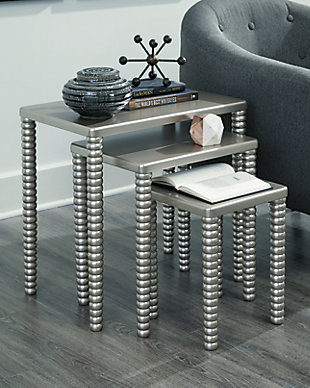 Caitworth Accent Table (Set of 3), , rollover