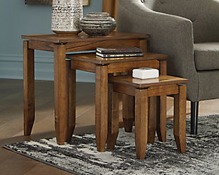 Brentmond Accent Table (Set of 3), , rollover