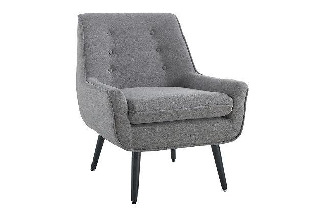 Trelis Chair, Gray, large
