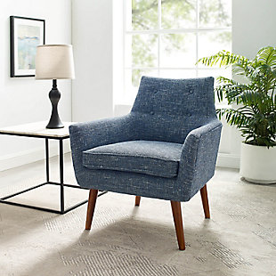 Blair Chair, Blue, rollover