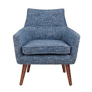 Blair Chair, Blue, large