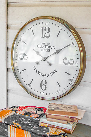 Old Town Station Clock, , large
