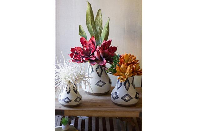 Ceramic Vases (Set of 3), , large
