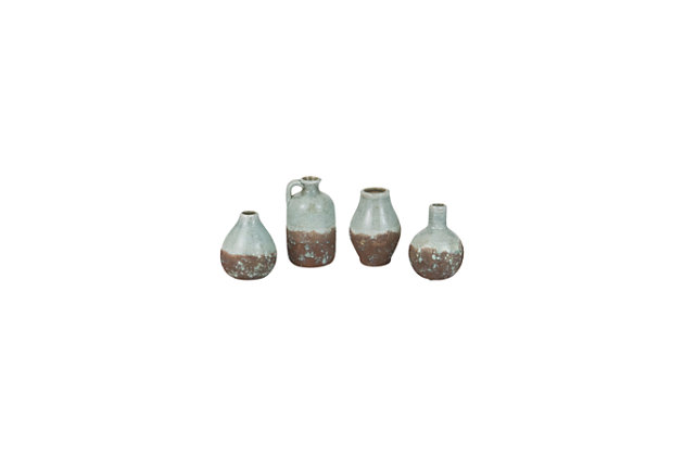Ceramic Bottles (Set of 4), , large