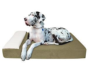 Lounger Large Pet Bed, Sage, rollover