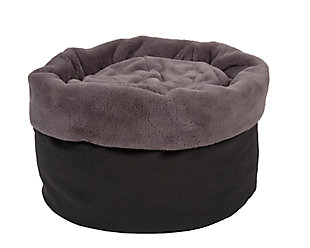 Round Puff Pet Bed, , large