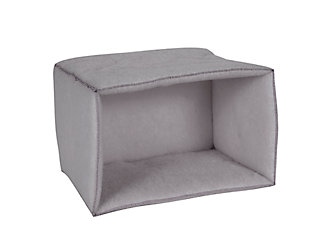 Mysterious Kitty Kuddler® Pet Bed, Charcoal, rollover