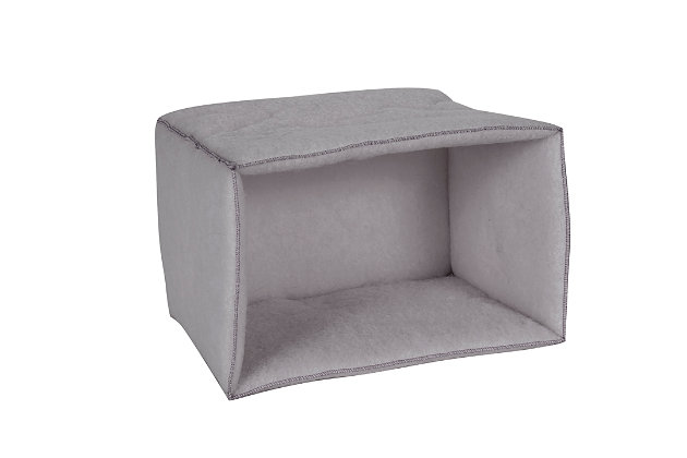 Mysterious Kitty Kuddler® Pet Bed, Charcoal, large