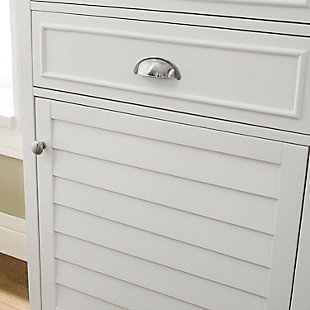 Tall Organizer Cabinet, White, large