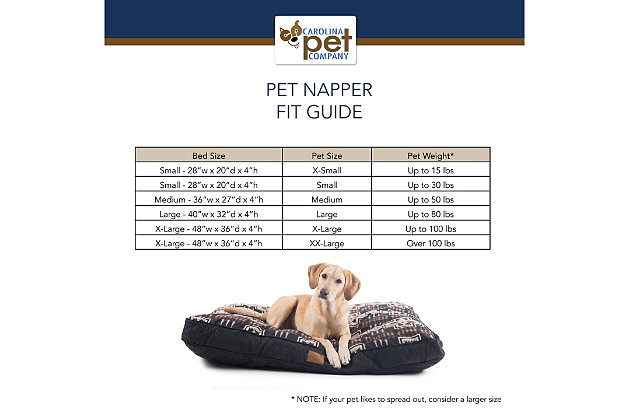 Pendleton Acadia National Park Large Pet Bed, Navy, large