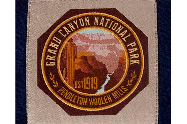 Pendleton Grand Canyon National Park Medium Pet Bed, Navy, large