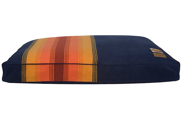 Pendleton Grand Canyon National Park Large Pet Bed, Navy, large