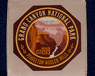 Pendleton Grand Canyon National Park X-Large Pet Bed, Navy, large