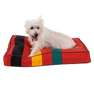 Pendleton Ranier National Park Small Pet Bed, Red, rollover