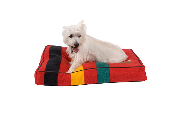 Pendleton Ranier National Park Small Pet Bed, Red, large