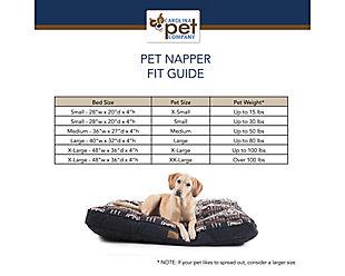 Pendleton Ranier National Park Medium Pet Bed, Red, large