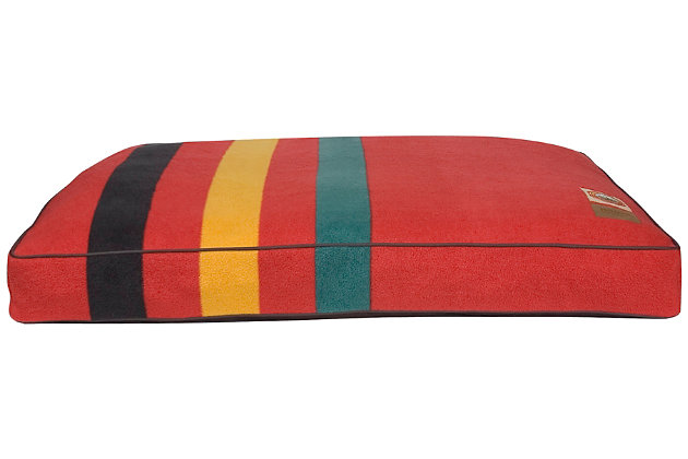 Pendleton Ranier National Park Large Pet Bed, Red, large