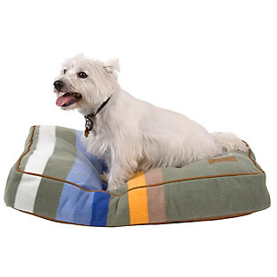 Pendleton Rocky Mountain National Park Small Pet Bed, Green, large