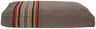 Pendleton Yakima Camp Large Pet Bed, Gray, large