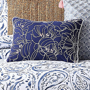 Paisley Decorative Pillow, , rollover