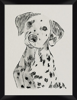 Giclee Dalmatian Wall Art, , large
